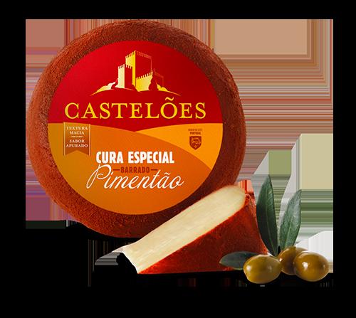 Queijo Castelões Pimentão