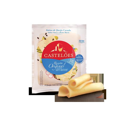 Queijo Castelões Original -30% Gordura Fatiado