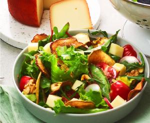Salada com sabor a realeza